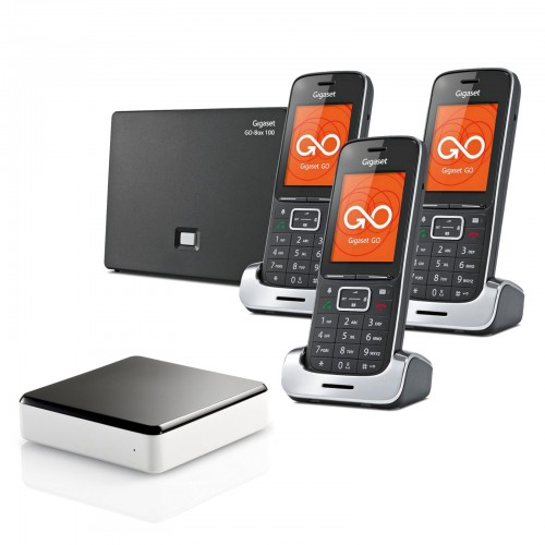 Siemens Gigaset SL450A GO Trio Cordless Phones with Link-to-Mobile