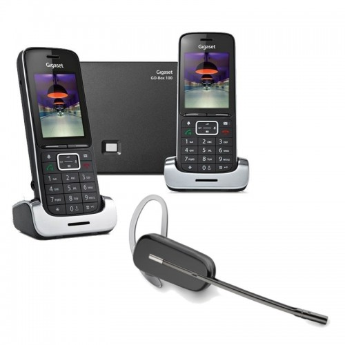 Siemens Gigaset SL450A GO Twin VoIP Cordless Phones with Wireless Headset