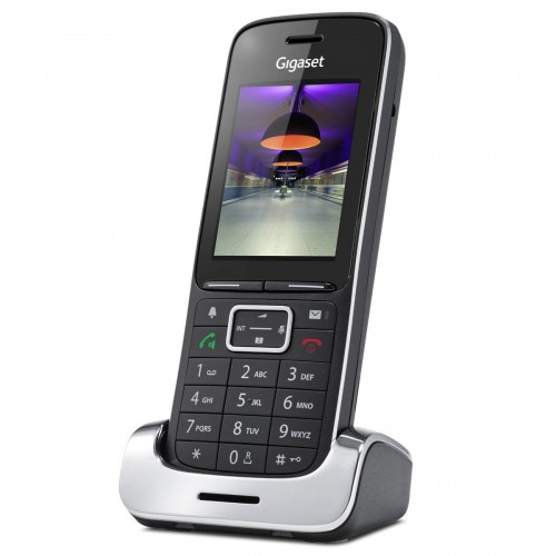 Siemens Gigaset SL450H Additional Handset - Black Edition - 1