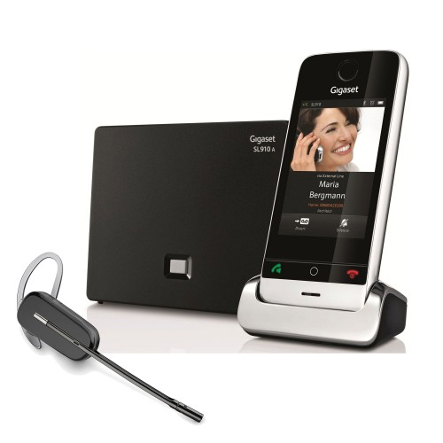 Siemens Gigaset SL910A with Wireless Headset