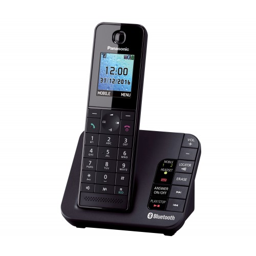 Panasonic KX-TGH260 Cordless Phone, Single Handset with Link2Mobile - 1