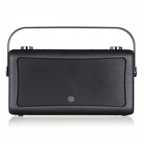 VQ Hepburn Mk II Portable DAB+/FM Radio & Bluetooth Speaker in Black - 1