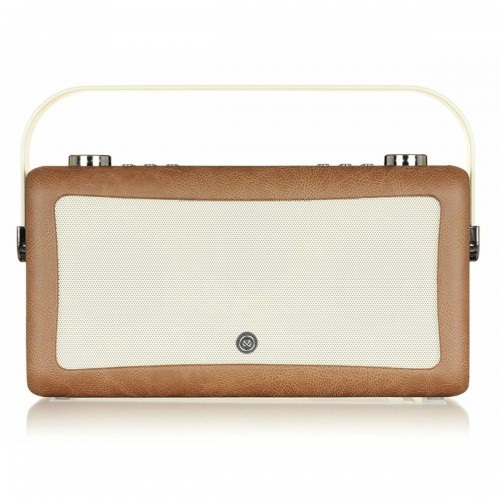 VQ Hepburn Mk II Portable DAB+/FM Radio & Bluetooth Speaker in Brown - 1