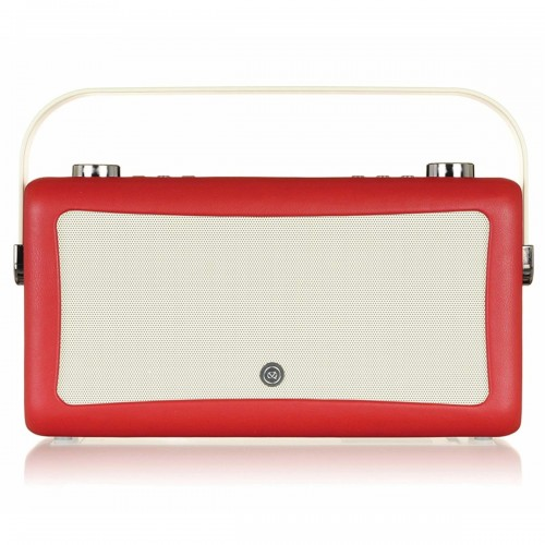VQ Hepburn Mk II Portable DAB+/FM Radio & Bluetooth Speaker in Red - 1