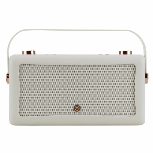 VQ Hepburn Voice Portable Smart Speaker & Internet Radio in Grey & Copper