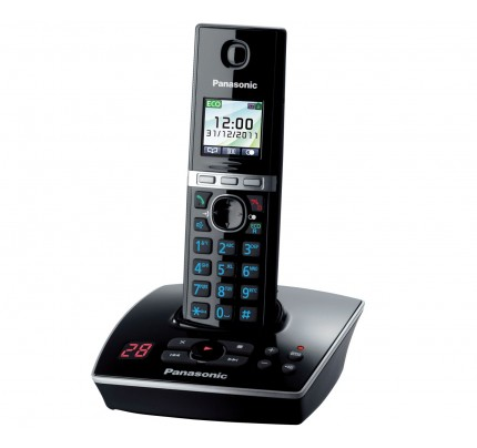Panasonic KX-TG 8061 Cordless Phone, Single Handset with Answer Machine
