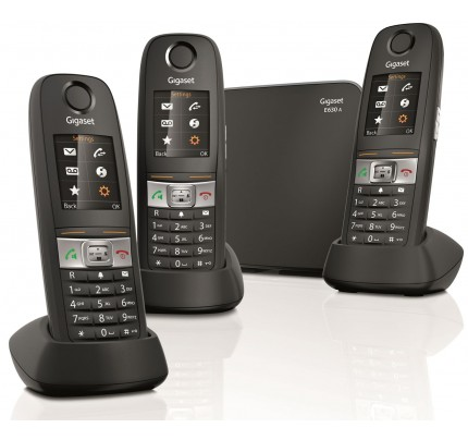 Siemens Gigaset E630A Trio Robust DECT Cordless Telephone