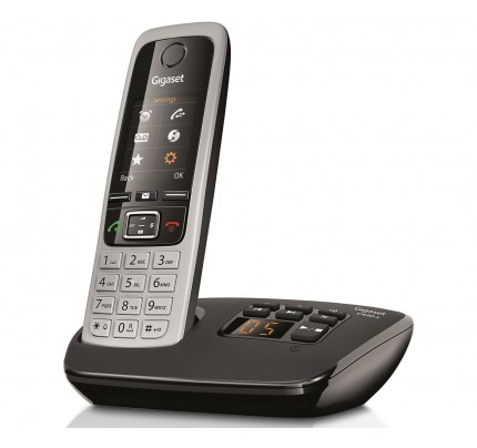 Siemens Gigaset C430A Cordless Phone, Single Handset with Answer Machine