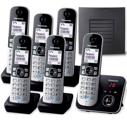 Panasonic KX-TG 6826 Sextet with Extended Range