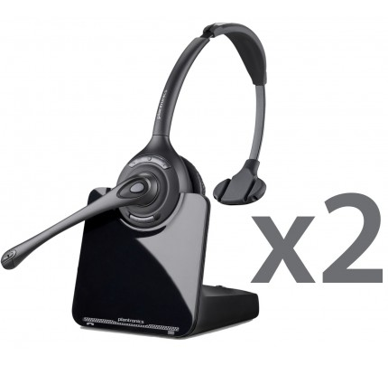 Plantronics CS510 Wireless Headset Twin