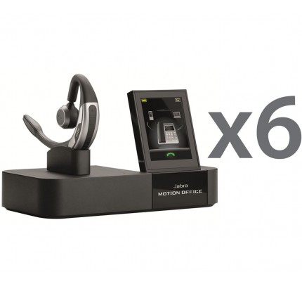Jabra Motion Office Wireless UC Sextet