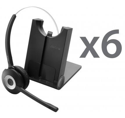 Jabra Pro 935 Sextet Wireless Headsets