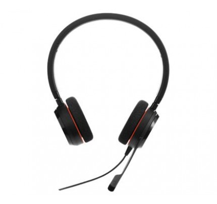 Jabra Evolve 20 MS Stereo Corded Headset for PC