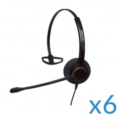 Agent AP-1 2.5mm Sextet Corded Headset