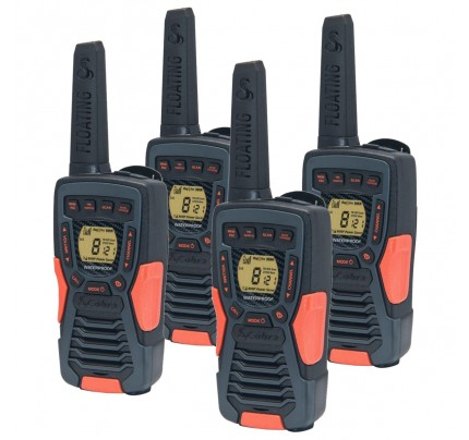 Cobra AM1035 12km Quad Walkie Talkies