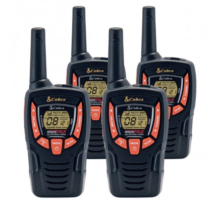Cobra AM645 Quad Walkie Talkies