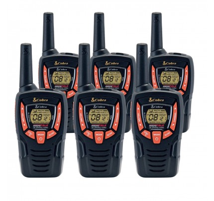 Cobra AM645 Sextet Walkie Talkies