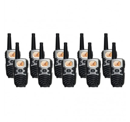 Binatone Terrain 850 Ten Pack Walkie Talkies
