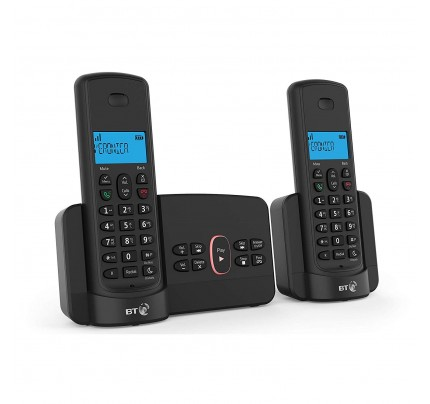 BT 3110 Cordless Phone Twin Handset with Answer Machine