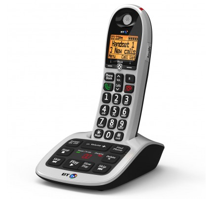 BT 4600 Cordless Phone, Single Handset with Big Buttons