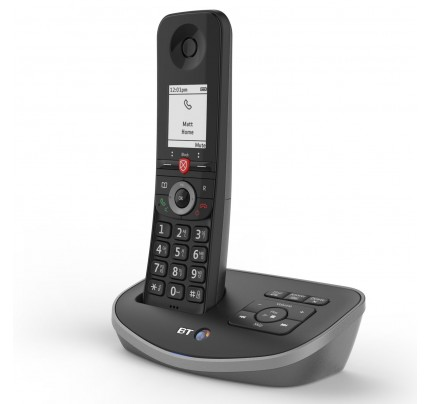 BT Advanced Cordless Phone with Answer Machine, Single Handset