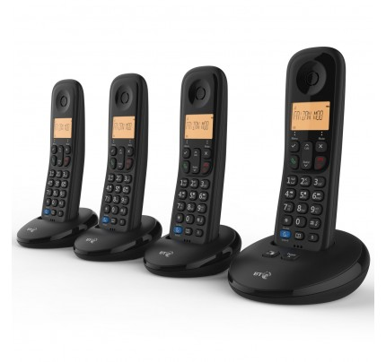 BT Everyday Phone Quad with Answer Machine