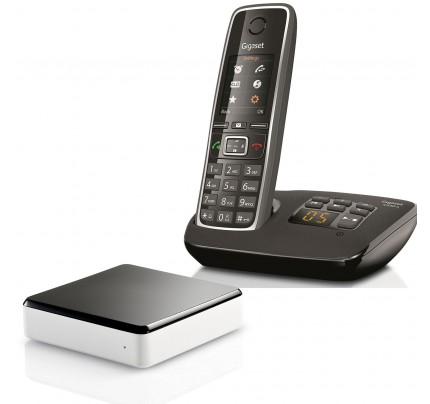 Siemens Gigaset C530A Cordless Phone with Link-to-Mobile