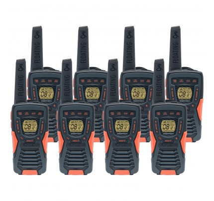 Cobra AM1035 12km Eight Pack Walkie Talkies