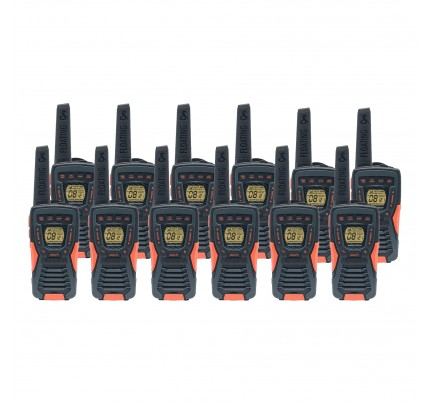Cobra AM1035 12km Twelve Pack Walkie Talkies