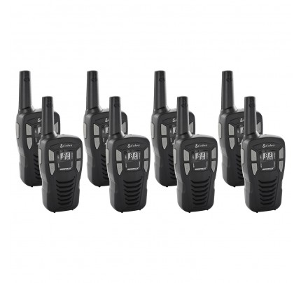 Cobra MT245 Eight Pack License-Free Two Way Radios