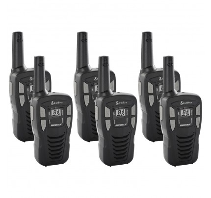 Cobra MT245 Six Pack License-Free Two Way Radios