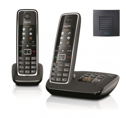 Siemens Gigaset C530A Twin Cordless Phones with Long Range