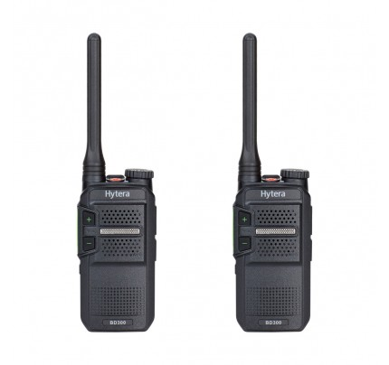 Hytera BD305LF Twin Pack License-Free Two Way Radios