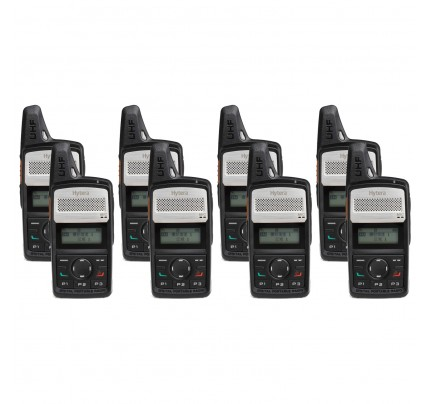 Hytera PD365LF Eight Pack License-Free Two Way Radio
