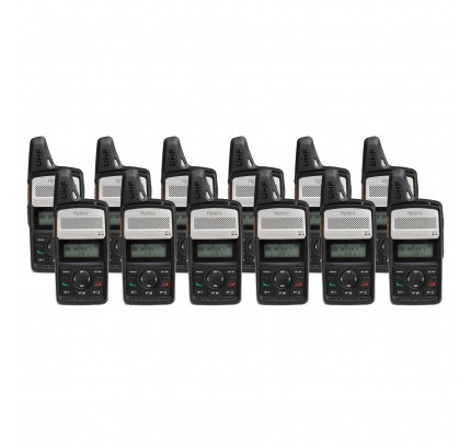 Hytera PD365LF Twelve Pack License-Free Two Way Radio