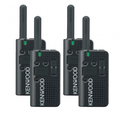 Kenwood PKT-23 Quad Pack License-Free Two-Way Radio