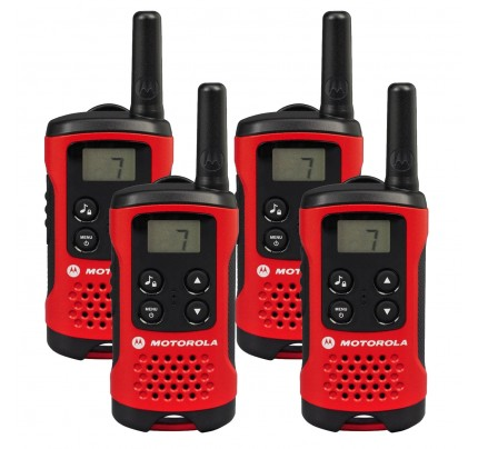 Motorola TLKR T40 Quad Two-Way Radios