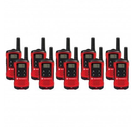Motorola TLKR T40 Ten Pack Two-Way Radios