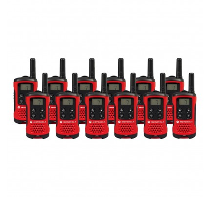 Motorola TLKR T40 Twelve Pack Two-Way Radios