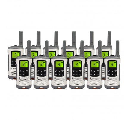 Motorola TLKR T50 Twelve Pack License-free Two Way Radios
