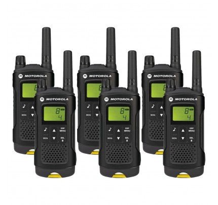 Motorola XT180 Six Pack License-free Two Way Radio