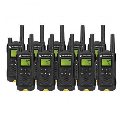 Motorola XT180 Ten Pack License-free Two Way Radio