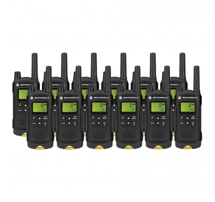 Motorola XT180 Twelve Pack License-free Two Way Radio
