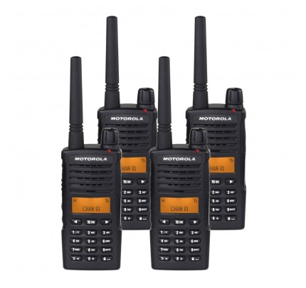 Motorola XT660 Quad Pack Digital Two Way Radio with Charger