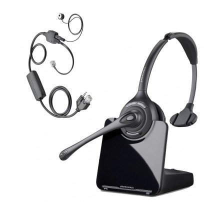 Plantronics CS510 Wireless Headset with Electronic Hookswitch