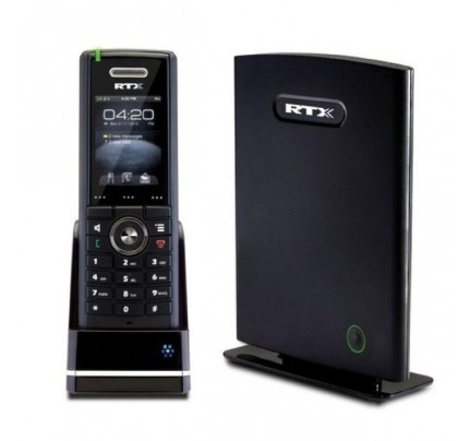 RTX8660 IP DECT Base with 8630 Cordless Handset