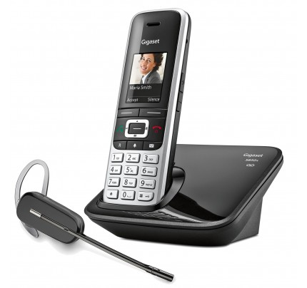 Siemens Gigaset S850A with Wireless Headset