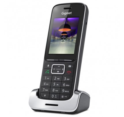 Siemens Gigaset SL450H Additional Handset - Black Edition