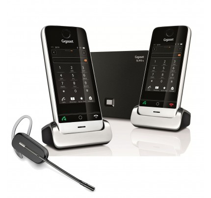 Siemens Gigaset SL910A Twin with Wireless Headset
