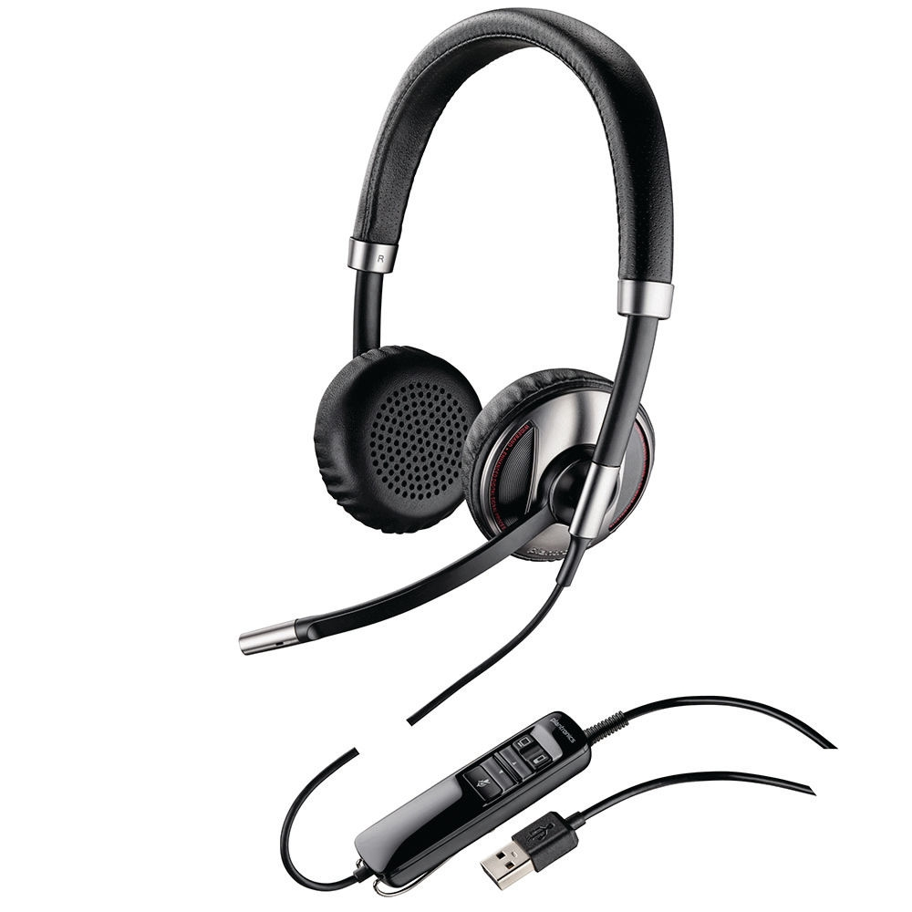 Image of Plantronics Blackwire C720-M Stereo Corded Headset with Bluetooth